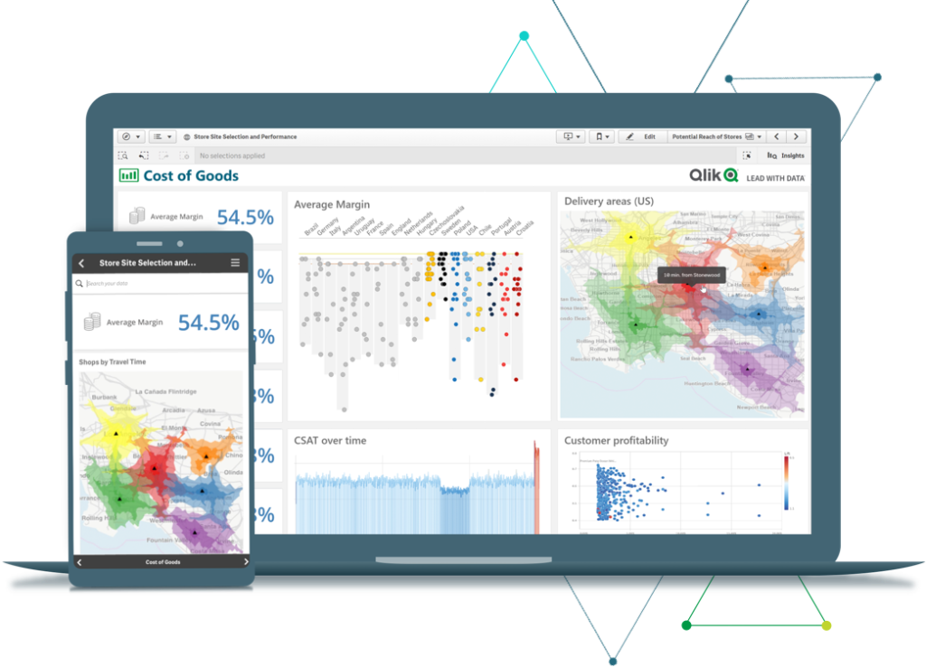 Qlik Sense Dashboard | Endeavour Solutions
