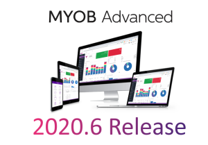 MYOB Advanced 2020.6