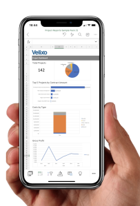 Velixo Reports MYOB Advanced Mobile